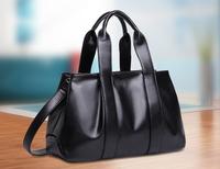 2014 women's genuine leather handbag women's fashion shoulder bag fashion handbag vintage messenger bag cowhide big bags