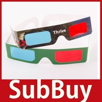 SubBuy 2 x Red Cyan Blue 3D Glasses 3 D Dimensional Save up to 50%