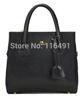 New 2014 fashion women bags famous/brands L  Vintage women handbag messenger bag genuine pu leather handbags