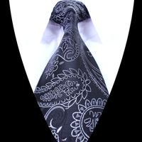 2014 960-pin Retro Printing Men Jacquard Woven Gentlemen Necktie Tie 100% Silk T690