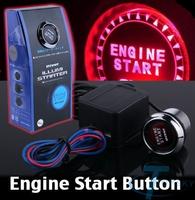 Universal Auto Car Keyless Entry System LED Illumination Engine Ignition Push Start Button Starter Kit boton de inicio startknap