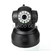 H.264 720P plug and play wireless P2P IP camera