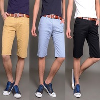 New arrival 2014 summer 100% Cotton high quality denim shorts(1 piece) fashion casual shorts
