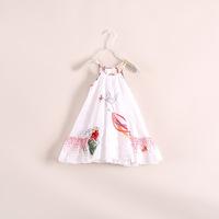 Vestido Vestidos Infantis Wholesale Baby Girls /kids Dresses. Summer Dress Children's Clothing Bird Harness . 6pcs/lot 22e042809