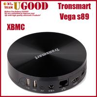 High Quality Tronsmart VEGA S89 Amlogic S802 Quad Core 2.0GHz Android 4.4 Smart TV BOX 2GB RAM 8GB ROM XBMC Google Bluetooth