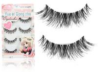 Free Shipping Japanese crisscross eyelash 10 pairs  false eyelashes thick [200541]