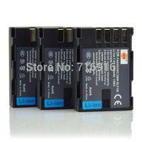DSTE 3pcs 7.2V 1950mAh DMW-BLF19E BLF19E Battery for Panasonic DMC-GH3 Camera