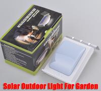 16LEDs Waterproof Solar Lamp 8hours Light Detected 0.5Watt 100mA Solar Lights For Garden, free shipping