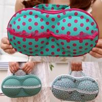 BF050 Bra storage box Travel portable cute underwear bra receive case 30*18cm Free shipping