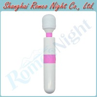 10 Modes Strong Vibrating Tranquil Mini USB Rechargeable AV Wand Stick Vibrator, Sex Toys Body Massager, Sex Products