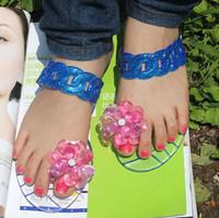 Free shipping 2013 summer women flats clear fruit flower rhinestone flip flops sandals women's shoes fashion girls beach sandals