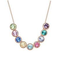 High Quality Austrian Crystal Necklace Pendants Women  Pendants Necklaces Multi-color Available GL-051