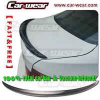 for BMW F30 CARBON FIBER TRUNK BOOT LIP SPOILER REAR WING 320i 328i 335i 2012-2014