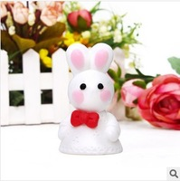 20Pcs/Lot  5*8.3CM  Wedding Gift Giveaways Top Creative Rabbit Children Washing Cleaning Face Essential Oil Soap