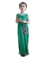 Summer Retro Bohemian Beach Dress Girls Dress Girls Long Skirts GQ-369