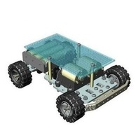Robot RC DIY 4 wheel Mobile Platform small Robot Chassis Arduino Compatible Car