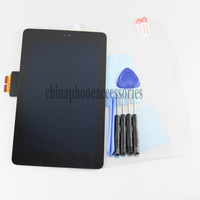 Replacement Full LCD Display + Touch Screen Digitizer Assembly repair part For ASUS Google Nexus 7 ME370T+ tools