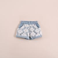 wholesale baby girls shorts /kids casual pants. lace denim shorts children's clothing . 5pcs/lot 21e043011 .