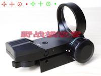 1x33 Multi Reticle Red Green Reflex Dot Sight For Rifle Picatinny Rail Light-Free Shipping
