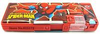 1pcs Cartoon Kawaii Cute Stationery School Supplies Spiderman Pen Box Spider-Man Pencil Case Spider man pencil-case For Kids Boy