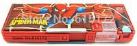 1pcs Cartoon Kawaii Cute Stationery School Supplies Spiderman Pen Box Spider-Man Pencil Case Spider man pencil-case For Kids Boy