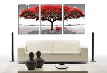 Free shipping 100% High Quality best-selling tree Home Wall Huge Decoration Modern Abstract Oil Painting on canvas wl1451()