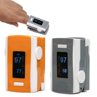 2014 new orange OLED Fingertip Pulse Oximeter with Alarm Setting and Beep Sound Spo2