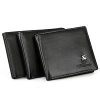 Promotion!men's wallets fashion wallet PU leather wallet,Slim Money Clip wallet 3 desgin/wallet for men wholesale  M17