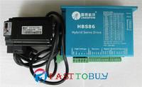 Leadshine 2-phase stepper motor  drive 30-80DCV 8.2A HBS86+57HS20-EC-1000  1.8 degree 5.8A 2.0NM original brand new