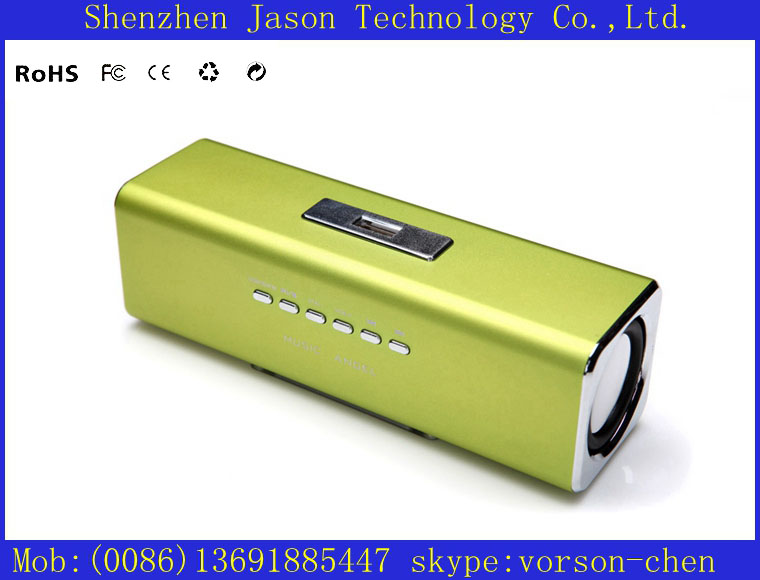 best micro sd mini speakers stereo portable mobile pc mp4 for cellphone(China (Mainland))