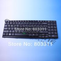 Russian Keyboard for CLEVO D900 D27 D470 M590 D70 BLACK RU version  MP-03753SU-4305L DNS RU keyboard