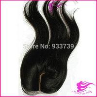 "New arrival J part silk base closure,  6a grade straight virgin Brazilian lace clsoure bleached knots, 4""x 4"" lace front closure"