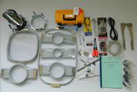 Embroidery machine parts: T-shirt &Tubular  hoops  /T-shirt &Tubular Frames