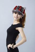Autumn Winter Women's Genuine Natural Knitted Rex Rabbit Fur Visor Hats Lady Warm Caps QD70132