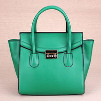 The European and American style fashion leather handbag