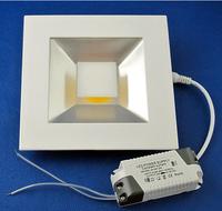 Wholesale LED panel 15W, 180mm high power COB down ceiling light panel, warm white cool white, 110V/220V/240V ac input, CE&RoHS