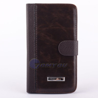 New Arrival Book PU Leather Stand Case for Samsung Galaxy Note 3 n9000 Retro Style Wallet Flip with Card Holder Free Shipping