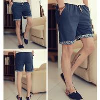 New Arrival Linen Pants National Trend Slim Skinny Harem Pants Plus Size Male Casual Korean Design Sports