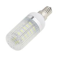E14 Strip Cover SMD 5730 36 Leds Led Corn Bulb Energy saving White 6000K or Warm White 3500K 6W 220V 230V 240V PVC 360 Degree