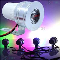 Multi-Color Mini Led Motorcycle flashing lighting 12v 1w decorative strobe light Daytime running Fog lamp Rear License plate