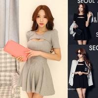 2014 summer women  sexy skirt one-piece mini  dress