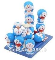 One set Japanese Anime Cartoon Figures Doraemon Cartoon Movie Figure Doraemon PVC Toys Decoration gift Free shipping