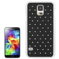 Luxury Bling Diamond Plating Skinning Plastic Case for Samsung Galaxy S5 / G900, free shipping!