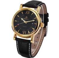 2014 Special Offer Hardlex Analog New Fashion Watch Orkina Brand Watches with Calendar Display Men Quartz Leather Strap Dress