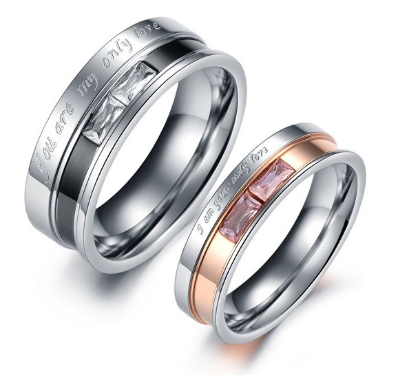 Wedding Ring Set For His And Her