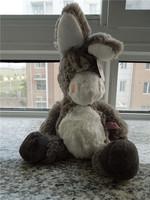 Free shipping NICI donkey plush toy NICI donkey soft stuffed toy 45cm big size