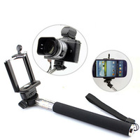 Selfie Rotary Extendable Handheld Camera Tripod Mobile phone Monopod for Digital Camera phone i9300 i9500 n9006 n7100 DV