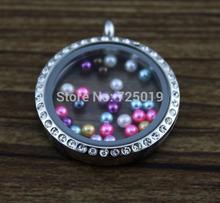 100pcs3MM Mix colors Pearl Dangle for Floating Charm Living Locket Chains Charm Bracelets 11