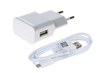 Original USB data Sync micro Mobile phone Cable EU plug Wall Charger For HTC Samsung Galaxy S3 I9300 ,I9100 I9500 DHL shipping