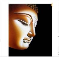 "Beautiful canvas painting modern abstract Art -Buddha "" 24x36"""